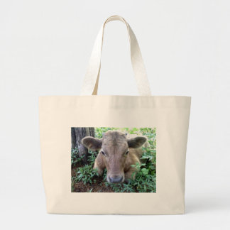 Calf 1,Jumbo Tote Canvas Bag