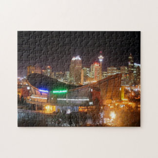 Calgary Alberta Canada - Saddledome Jigsaw Puzzle