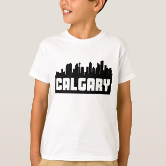 Calgary Alberta Skyline T-Shirt