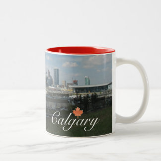 Calgary Alberta Two-Tone Coffee Mug