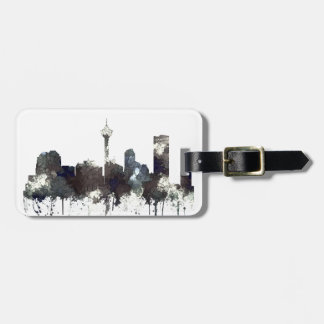 Calgary Alta.Skyline-CRISP Luggage Tag