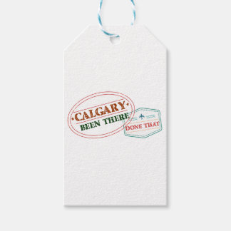 Calgary Been there done that Gift Tags