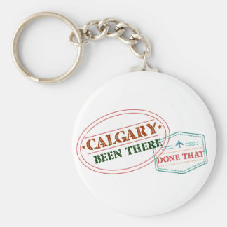 Calgary Been there done that Key Ring