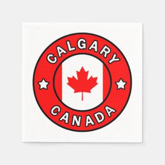 Calgary Canada Disposable Napkin