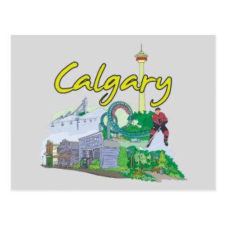 Calgary, Canada Famous City Postcard