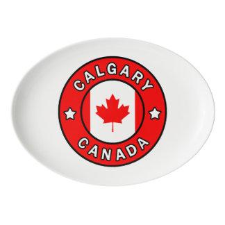 Calgary Canada Porcelain Serving Platter