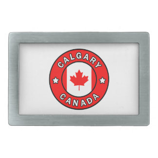 Calgary Canada Rectangular Belt Buckles
