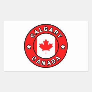 Calgary Canada Rectangular Sticker