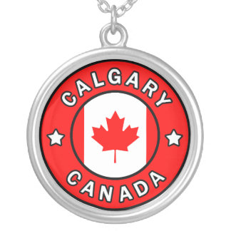 Calgary Canada Silver Plated Necklace