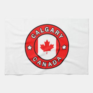 Calgary Canada Tea Towel