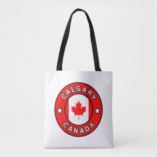 Calgary Canada Tote Bag