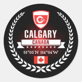 Calgary Classic Round Sticker