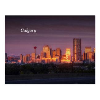 Calgary Dawn Postcard