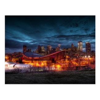Calgary Downtown Postcard