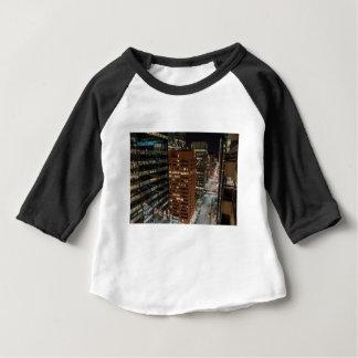 Calgary Night Skyline Baby T-Shirt