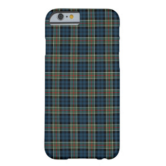 Calhoun Clan Navy Blue, Green, and Red Tartan Barely There iPhone 6 Case