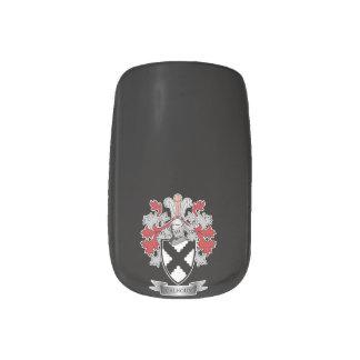 Calhoun Family Crest Coat of Arms Minx Nail Art