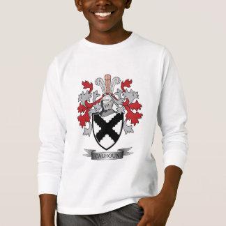 Calhoun Family Crest Coat of Arms T-Shirt