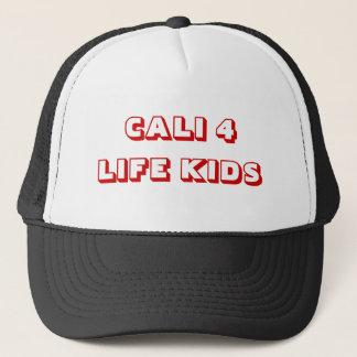 CALI 4 LIFE KIDS TRUCKER HAT