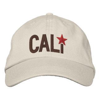 Cali California Republic STAR Embroidery Embroidered Baseball Cap
