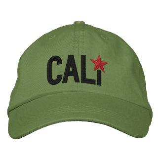 Cali California Republic STAR Embroidery Embroidered Cap