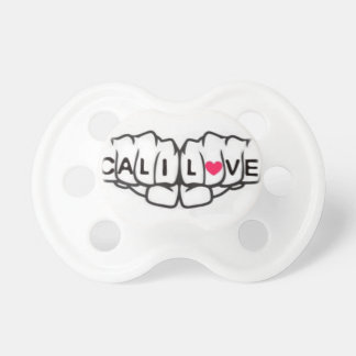 """""""Cali Love"""" Knuckles Baby Pacifier"""