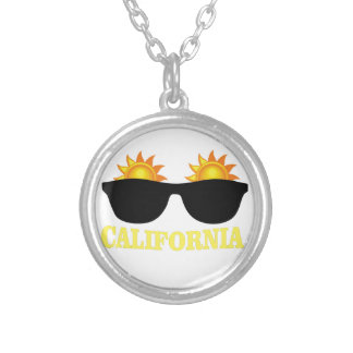 cali suns silver plated necklace