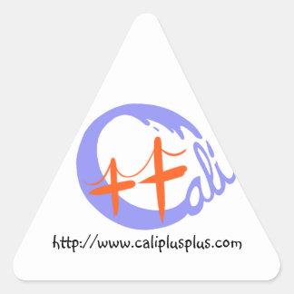 Cali++ Triangle Triangle Sticker