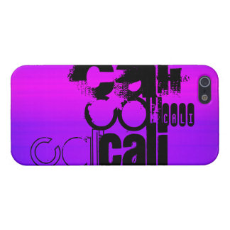 Cali; Vibrant Violet Blue and Magenta iPhone 5 Covers