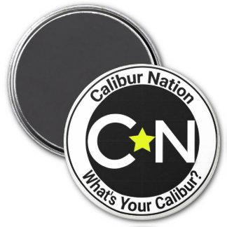 Calibur Nation Round Magnet