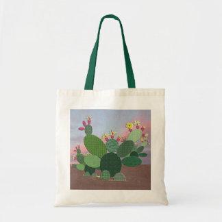 Calico Cactus Tote Bag