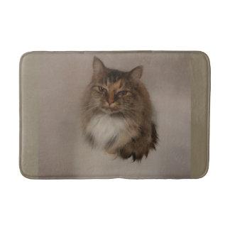 Calico Cat Bath Mat