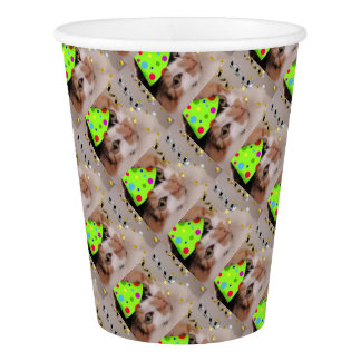 Calico Cat Birthday Party Paper Cup