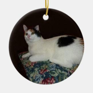 Calico Cat Christmas Tree Ornament