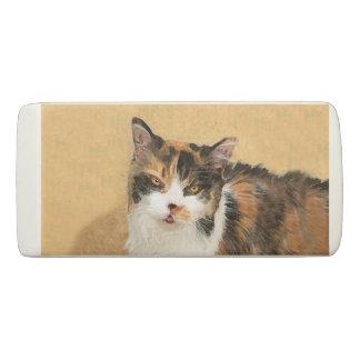 Calico Cat Eraser