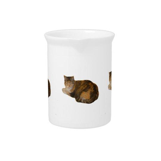 Calico Cat Pitcher