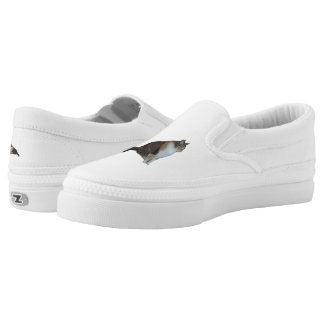 Calico Cat Slip-On Shoes