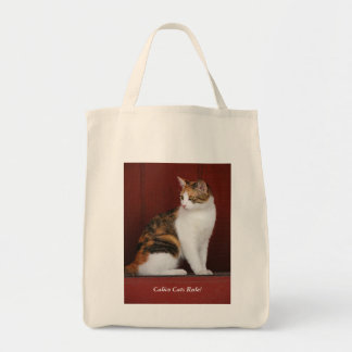 Calico Cats Rule! Tote