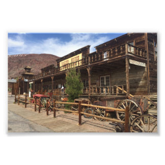 Calico Ghost Town Restaurant Photo Print