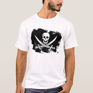 Calico Jack Ghost Flag T-Shirt
