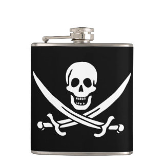 Calico Jack Rackham Pirate Flag Flask