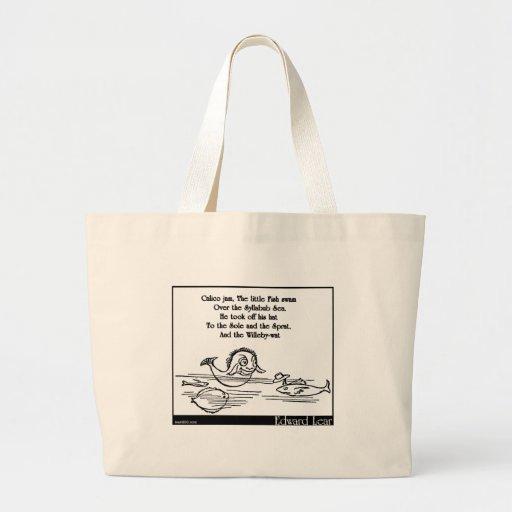 Calico Jam Tote Bags