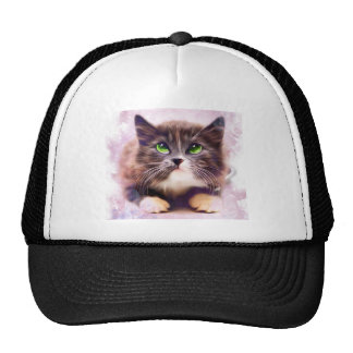 Calico Kitten Cap