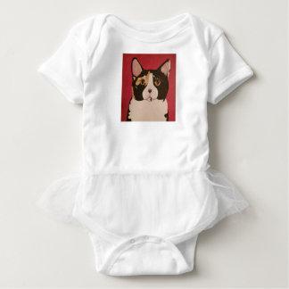 Calico Kitty infant onsie tutu romper Baby Bodysuit