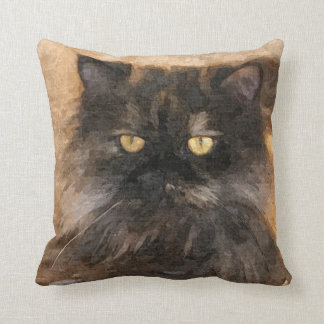 Calico Persian Cat Cushion