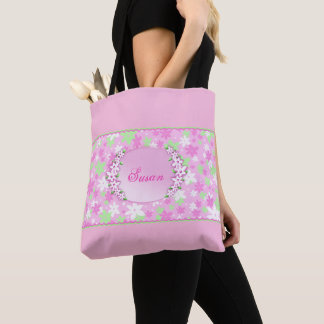 Calico Pink Tote