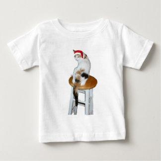 Calico Santa Baby T-Shirt