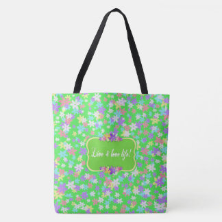 CALICO TOTE - Live and Love Life