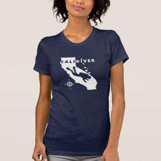 CALIDIVER Wht Shirts