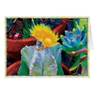 Caliente Cactus Card